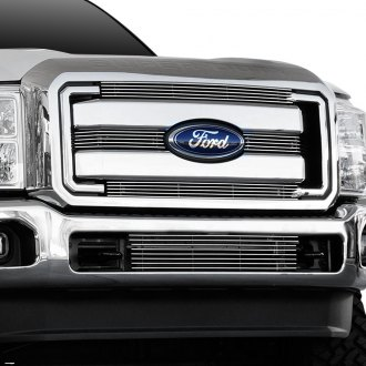 T-Rex® - 4-Pc Polished Horizontal Billet Grille