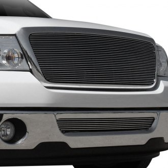 T-Rex® - 1-Pc Full Opening Style Polished Horizontal Billet Main Grille