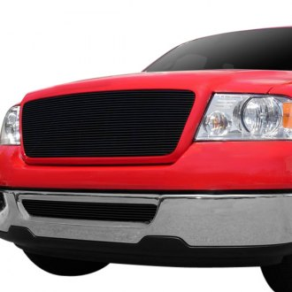 T-Rex® - 1-Pc Full Opening Style Black Horizontal Billet Grille