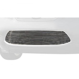 T-Rex® - 1-Pc Polished Horizontal Billet Bumper Grille