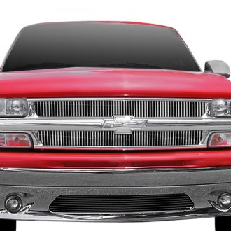 T-Rex® - 2-Pc Polished Vertical Billet Grille