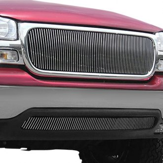 T-Rex® - 1-Pc Polished Vertical Billet Grille