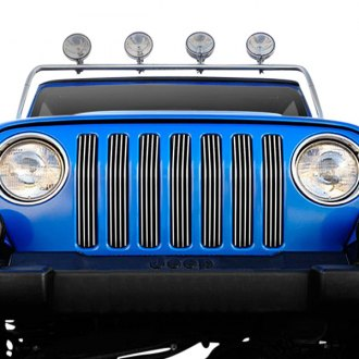 T-Rex® - 7-Pc Black Vertical Billet Grille