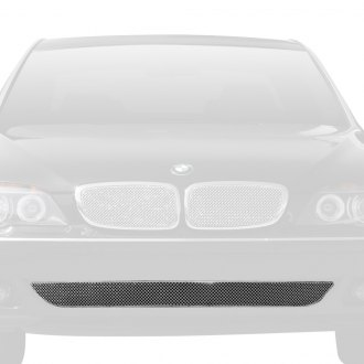 T-Rex® - 1-Pc Sport Series Chrome Formed Mesh Bumper Grille