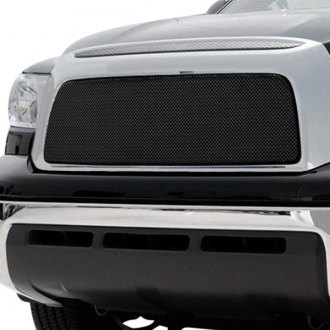 T-Rex® - 1-Pc Sport Series Black Formed Mesh Grille