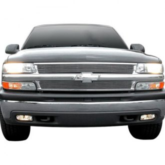 T-Rex® - 2-Pc Chrome Horizontal Billet Grille