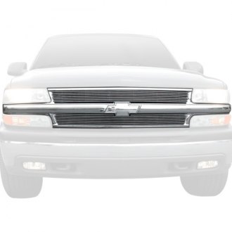 T-Rex® - 2-Pc Chrome Horizontal Billet Main Grille
