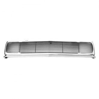 T-Rex® - 1-Pc Phantom Style Chrome Horizontal Billet Main Grille