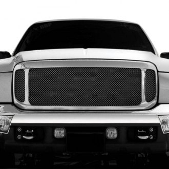 T-Rex® - 3-Pc Look Polished Formed Mesh Grille