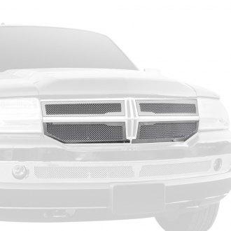 T-Rex® - 4-Pc Upper Class Series OE Style Chrome Formed Mesh Main Grille
