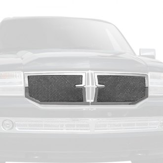 T-Rex® - 2-Pc Upper Class Series OE Style Chrome Formed Mesh Main Grille