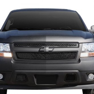 T-Rex® - Upper Class Series 2-Pc Look Black Mesh Grille
