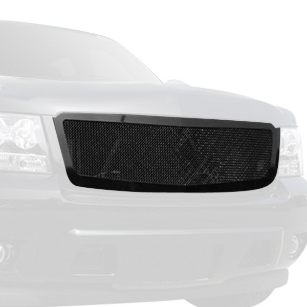 T rex 51052 1 pc upper class series black mesh main grille t rex 1 pc upper class series black mesh main grille voltagebd Images