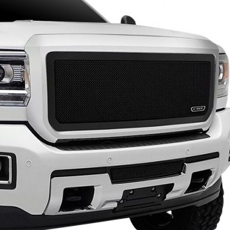 T-Rex® - 1-Pc Upper Class Series Black Formed Mesh Grille