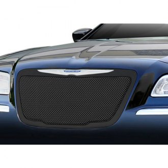 T-Rex® - 1-Pc Upper Class Series Black Formed Mesh Main Grille