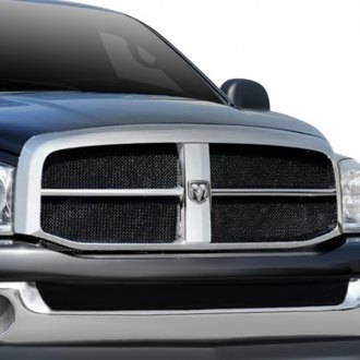 T-Rex® - Upper Class Series 4-Pc Look Black Mesh Grille