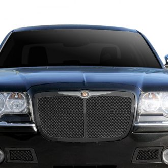 T-Rex® - 1-Pc Upper Class Series Bentley Style Black Mesh Grille