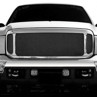 T-Rex® - Upper Class Series 3-Pc Look Black Mesh Grille