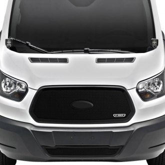 Ford Transit Custom Grilles Billet Mesh Cnc Led Chrome Black