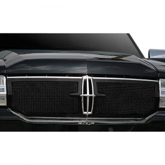 T-Rex® - 2-Pc Upper Class Series Black Formed Mesh Grille