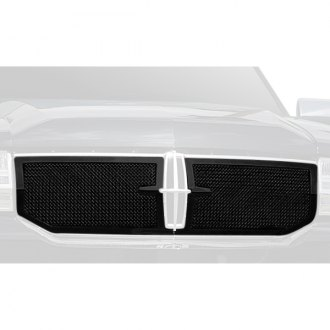 T-Rex® - 2-Pc Upper Class Series Black Formed Mesh Main Grille