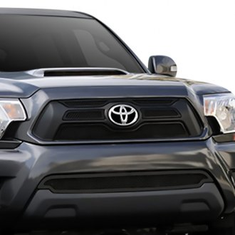 T-Rex® - 4-Pc Upper Class Series Black Mesh Grille