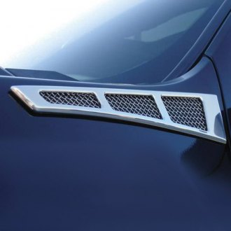 T-Rex® - Upper Class Series Polished Billet Side Vent Grilles