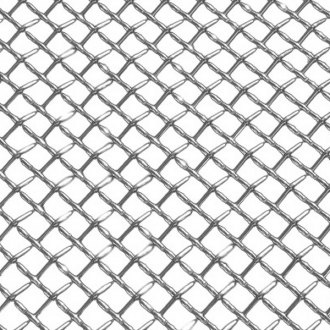T-Rex® - Upper Class Series Flat Polished Wire Mesh Grille Sheet