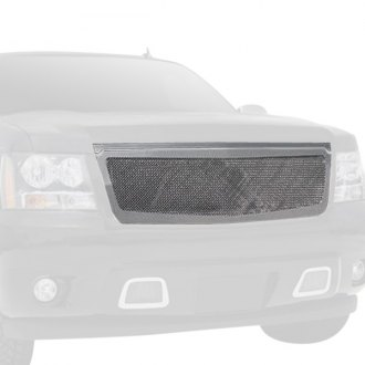 T-Rex® - Upper Class Series 1-Pc Look Polished Mesh Grille