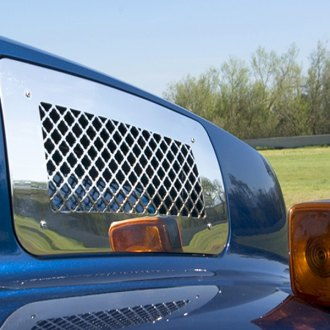 T-Rex® - Upper Class Series Mesh Style Polished Side Vent Grilles