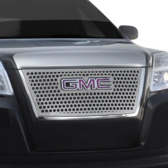T-Rex® - 1-Pc Denali Style Polished Round Punch CNC Machined Grille