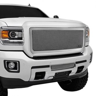 T-Rex® - 1-Pc Upper Class Series Polished Formed Mesh Grille