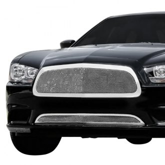 T-Rex® - 1-Pc Upper Class Series Full Opening Style Polished Formed Mesh Grille