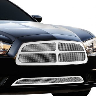 T-Rex® - Upper Class Series 4-Pc Look Polished Formed Mesh Grille
