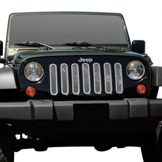 T-Rex® - 7-Pc Upper Class Series Polished Formed Mesh Main Grille