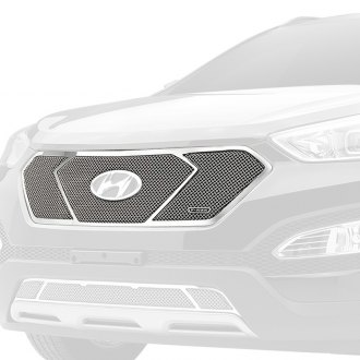 T-Rex® - Upper Class Series 3-Pc Look Polished Formed Mesh Main Grille