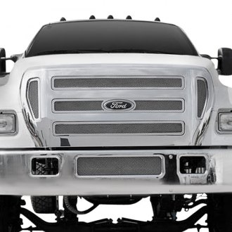 T-Rex® - 7-Pc Upper Class Series Polished Mesh Grille