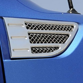 T-Rex® - 2-Pc X-Metal Series Polished Side Vent Grilles