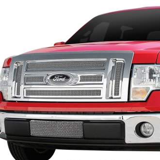 T-Rex® - 6-Pc Upper Class Series Polished Formed Mesh Grille