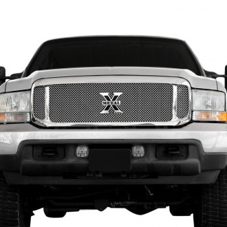 T-Rex® - Upper Class Series 3-Pc Look Polished Mesh Grille