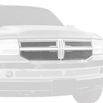 T-Rex® - 4-Pc Upper Class Series Polished Mesh Main Grille