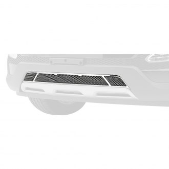 T-Rex® - Upper Class Series 3-Pc Look Polished Formed Mesh Bumper Grille