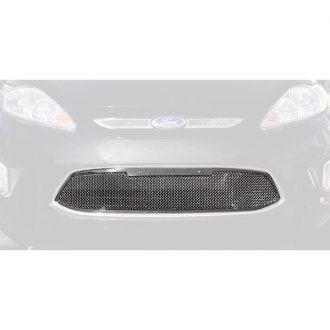 T-Rex® - 1-Pc Upper Class Series Polished Formed Mesh Bumper Grille