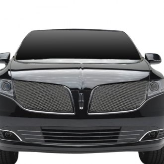 T-Rex® - 2-Pc Upper Class Series Chrome Formed Mesh Grille