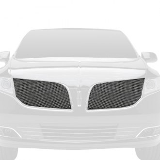 T-Rex® - 2-Pc Upper Class Series Chrome Formed Mesh Main Grille