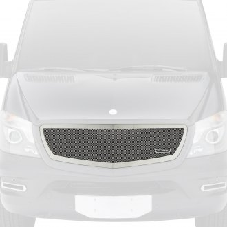T-Rex® - 1-Pc Upper Class Series Chrome Formed Mesh Main Grille