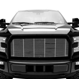 T-Rex® - 1-Pc Framed Style Polished Horizontal Billet Grille