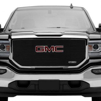 T-Rex® - 1-Pc Black Horizontal Laser Billet Grille