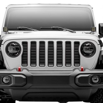 "T-Rex® - 1-Pc Silver 3/8"" Thick Horizontal Tubular Main Grille"