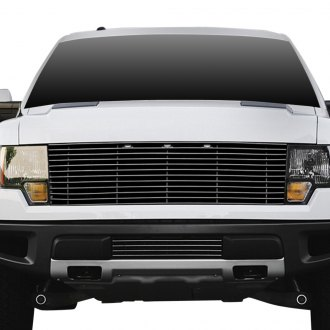 T-Rex® - 1-Pc Polished Horizontal Laser Billet Grille